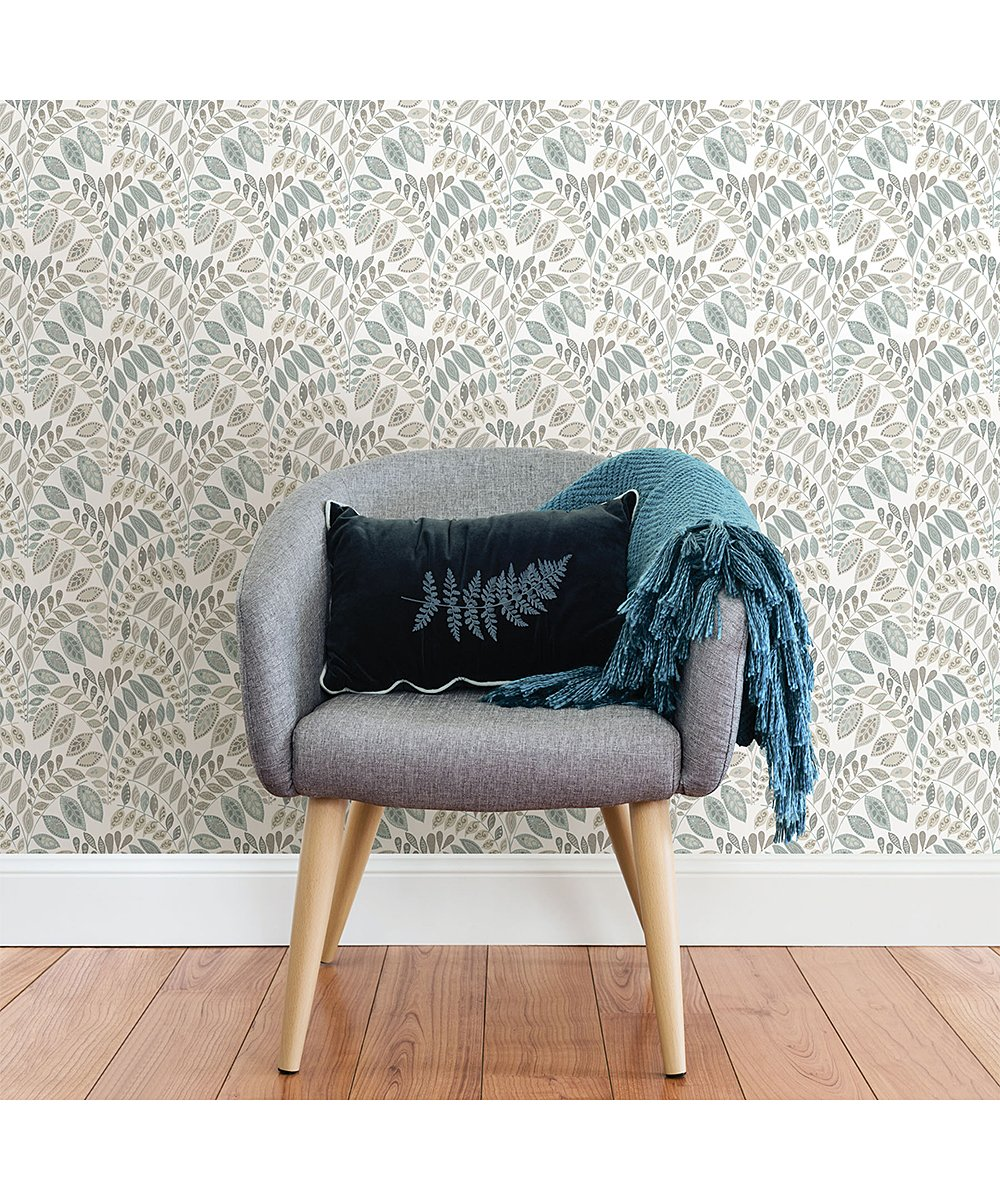 Brewster Home Fashions Gray Teal Gustavus Peel And Stick Wallpaper Best Price And Reviews Zul Peel And Stick Wallpaper Nuwallpaper Brewster Home Fashions