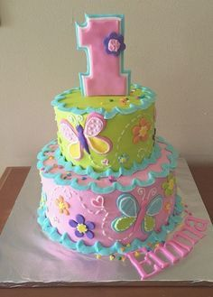 37 Unique Birthday Cakes for Girls with Images [2018] -   18 cake Girl flower ideas