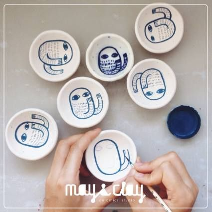 https://www.facebook.com/MayandClayCeramicsStudio  Instrgram : mayandclay
