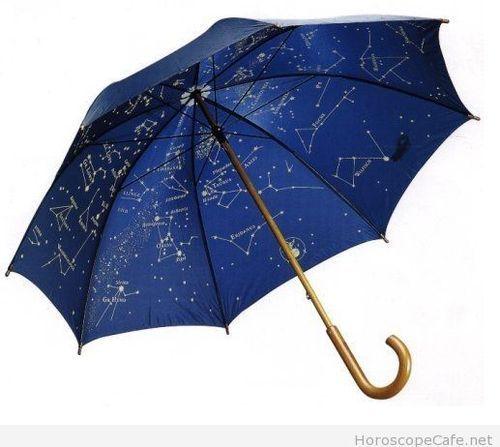 ae9a23eec4e6 Astrology Umbrella | Zodiac | Golf umbrella, Cute umbrellas ...