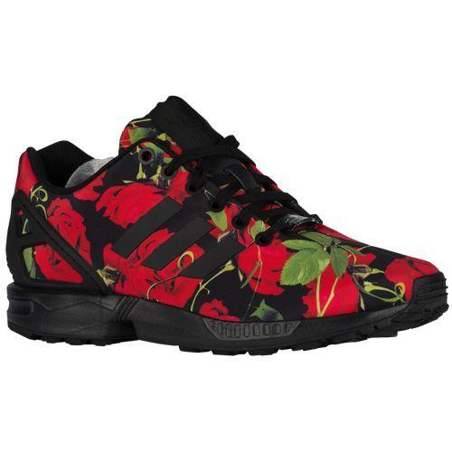 a11e49477106b1 adidas Originals ZX Flux - Women s - Black   Red