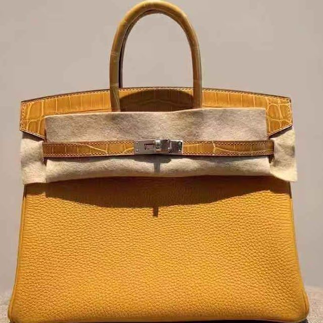74602b458fd Hermes · Delivery ·  44500. WA Flo at 65 90683848. New Jaune Ambre Touch  Birkin 25 Phw.
