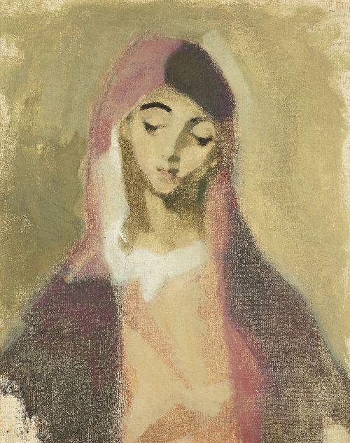 HELENE SCHJERFBECK (1862-1946) Madonna de la Charité