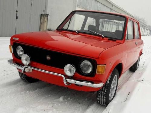 Fiat 128 Rally 1300 Full Restored For Sale 1973 Clasicos