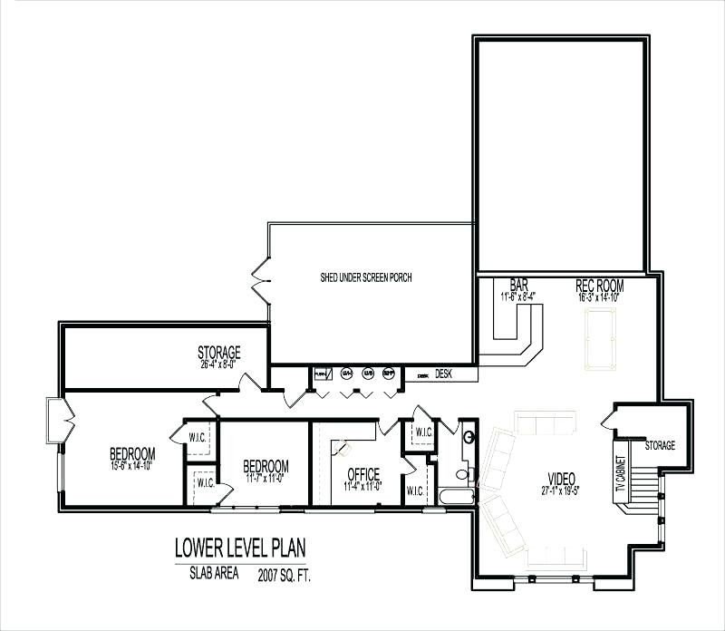 20 Best Of 2000 Sq Ft Ranch House Plans With Basement Image
