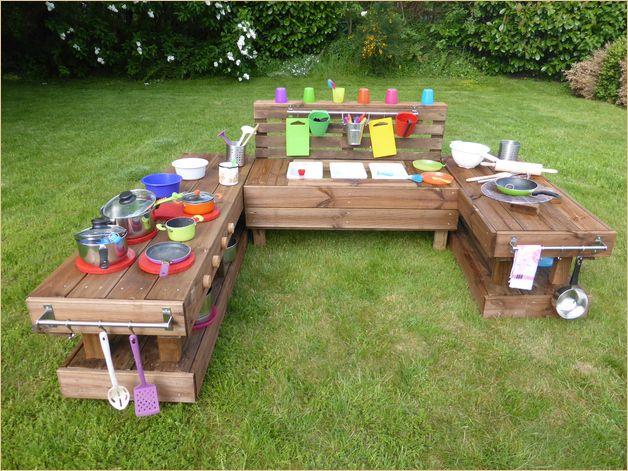 20 Special Garten Kinder Mobel Aus Paletten Kinderkuche Holz Kinderkuche