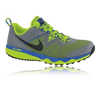 d719230beda0 Nike Dual Fusion Trail Running Shoes Blue Grey Yellow 125     Read more  reviews of the product by visiting the link on the image.