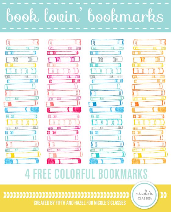 Free Download Pattern Book Lovin Bookmarks Nicoles Classes Art