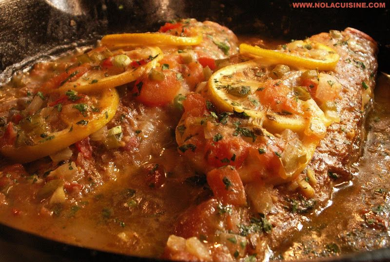 Redfish courtbouillon creole mama pinterest cuisine for Red fish recipe