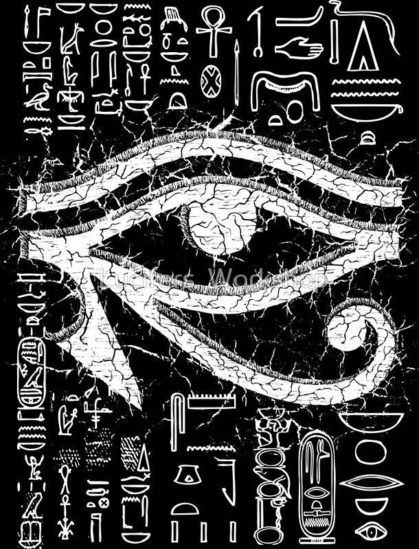 Eye Of Horus Poster By Lucifers Workshop In 2021 Eye Of Horus Egyptian Tattoo Horus