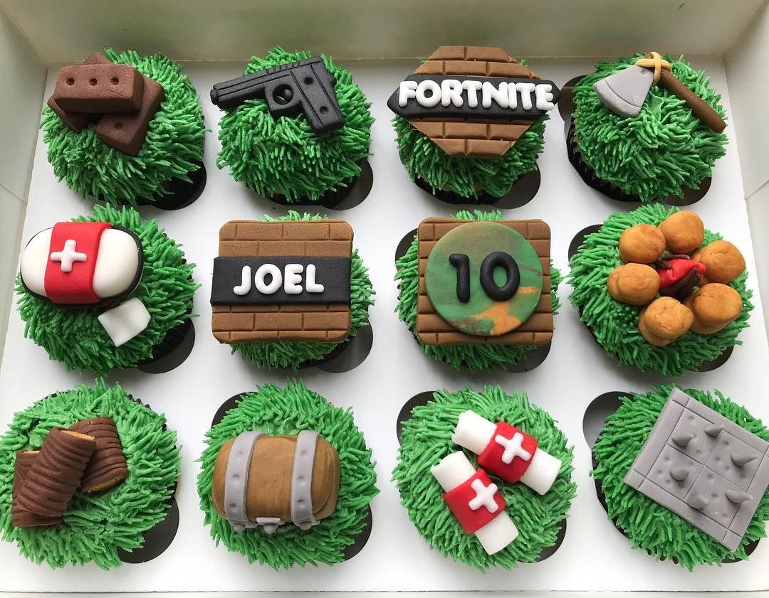 Fortnite Cupcakes Fortnite Fortnitegame Fortnitecake