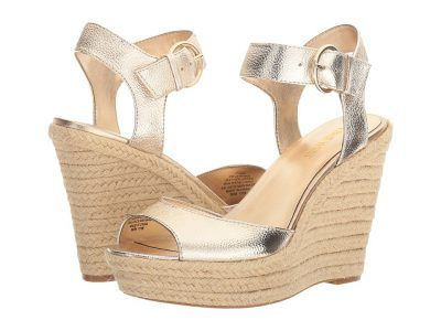 Nine West - Jerrika (Gold Metallic) Women's Shoes