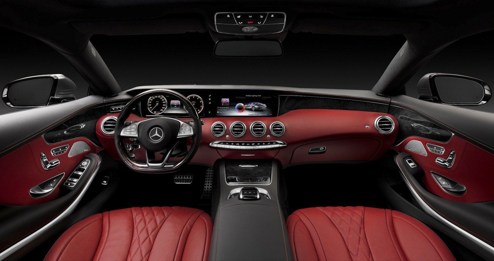 WOW! 2015 Mercedes-Benz S550 4MATIC Coupe — High-Speed, High-Fashion ...