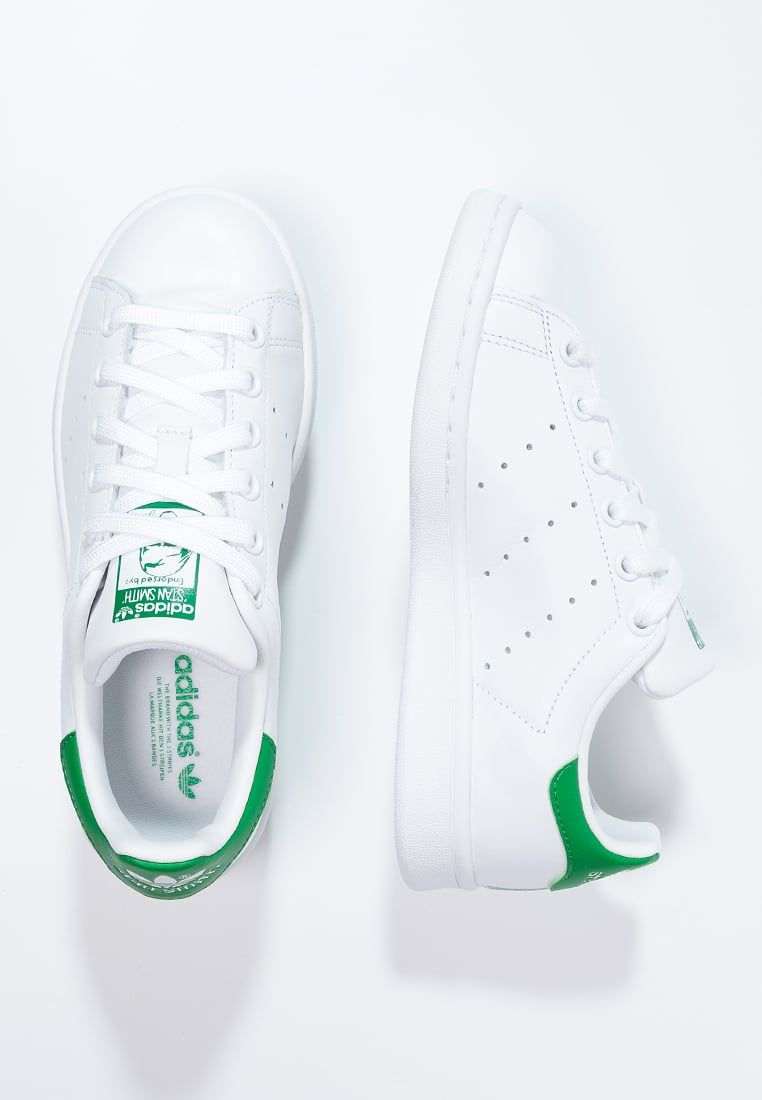 adidas originals stan smith - baskets basses - running white/green