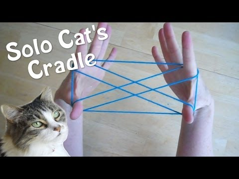 (680) Solo Cats Cradle How to play with only one person