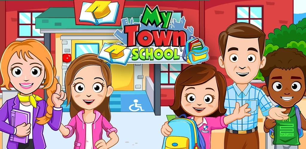 Download My Town School Apk Android App by My Town Games