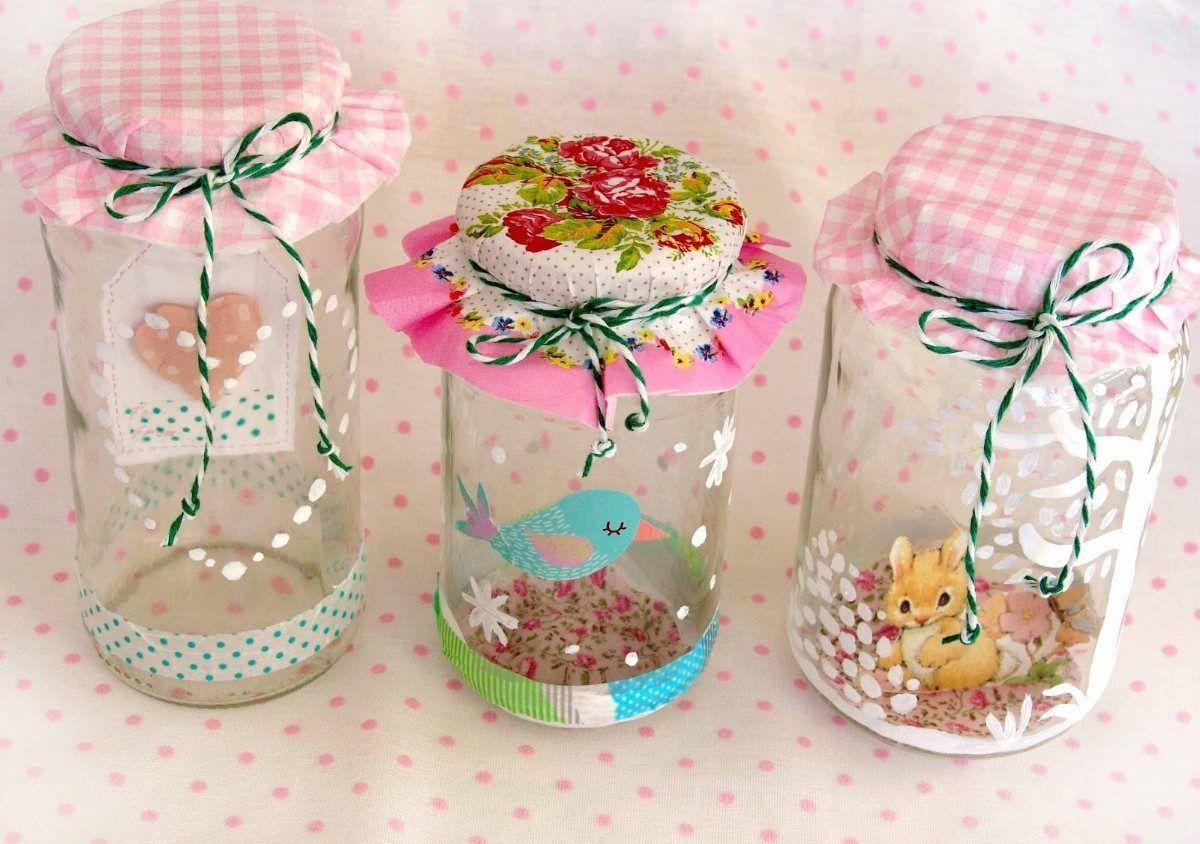 Frascos decorados buscar con google frascos decorados - Frascos de vidrio decorados ...