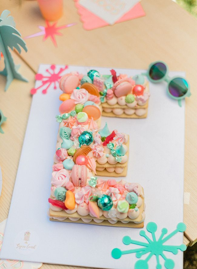 Retro Tropical First Birthday Party #tropicalbirthdayparty