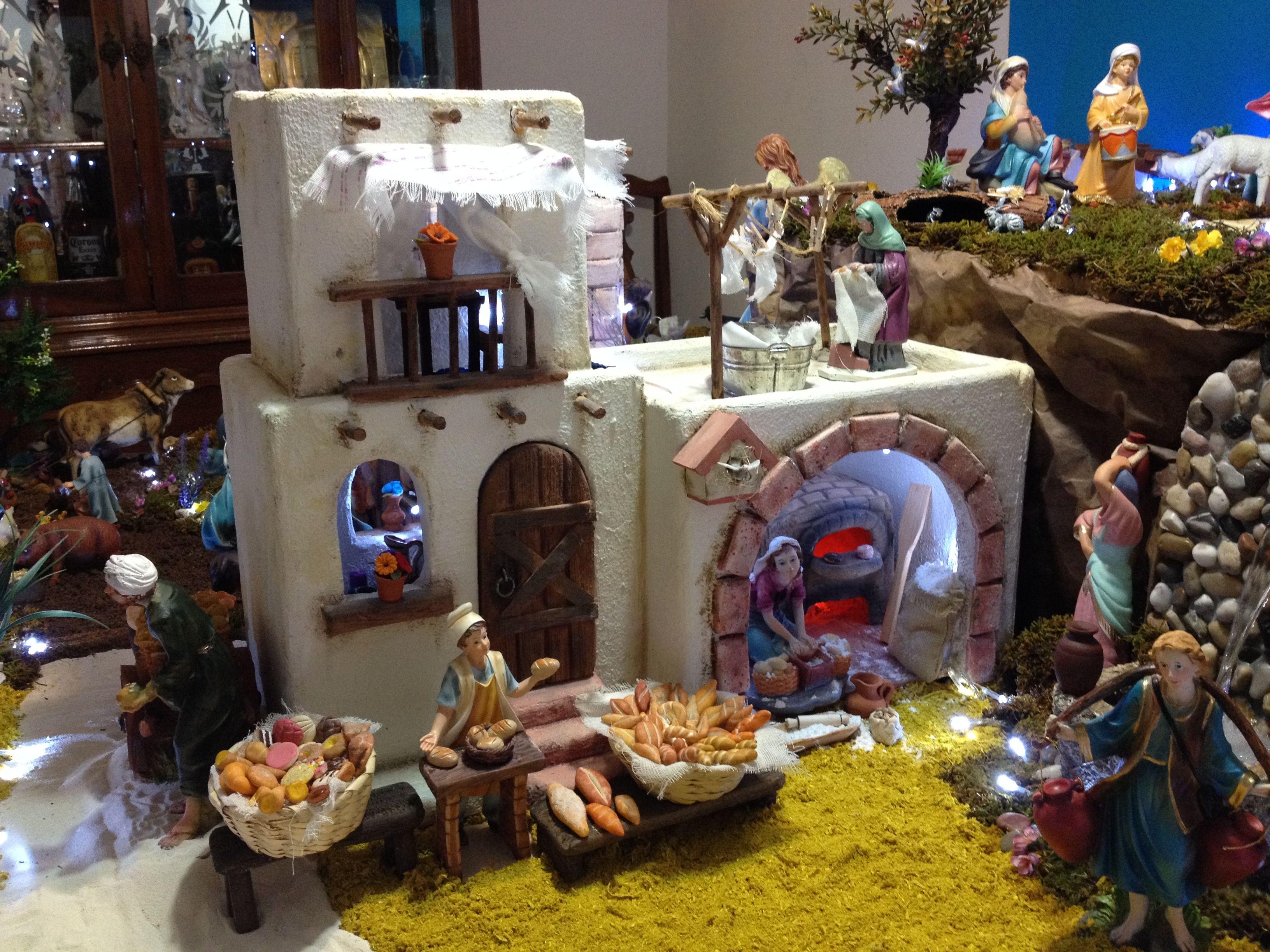 Nacimiento bel n de gabriela aranda 2013 guadalajara m xico panader a belenes pinterest - Nacimiento para navidad ...