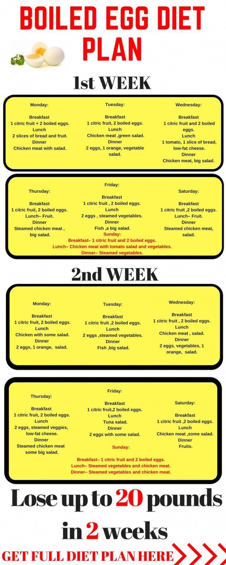2 week egg diet 24 lbs printable
