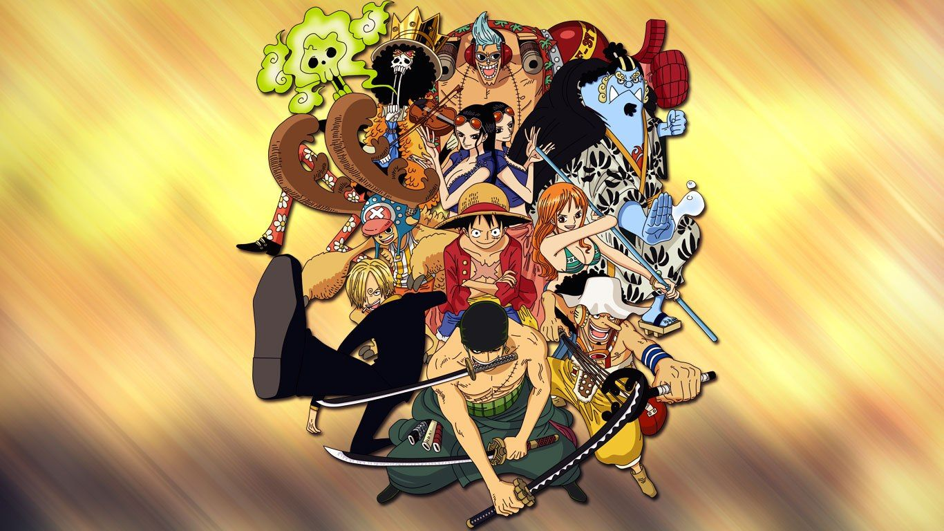 One Piece Crew After 2 Years New World Wallpaper