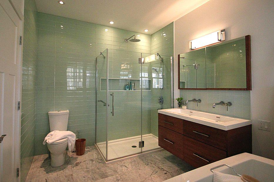 Salle de bain contemporaine Bromont - Designer d\u0027intérieur à Québec