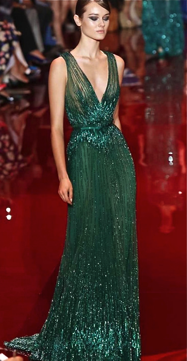 You would ROCK the shit out of this!  Nicole Novembrino Harris. Elie Saab  Fall 2013 tipo de bordado Elie Saab Couture 71707167b654