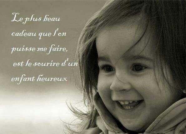 Enfance Heureuse Enfant Heureux Citation Jalousie Citation Enfants