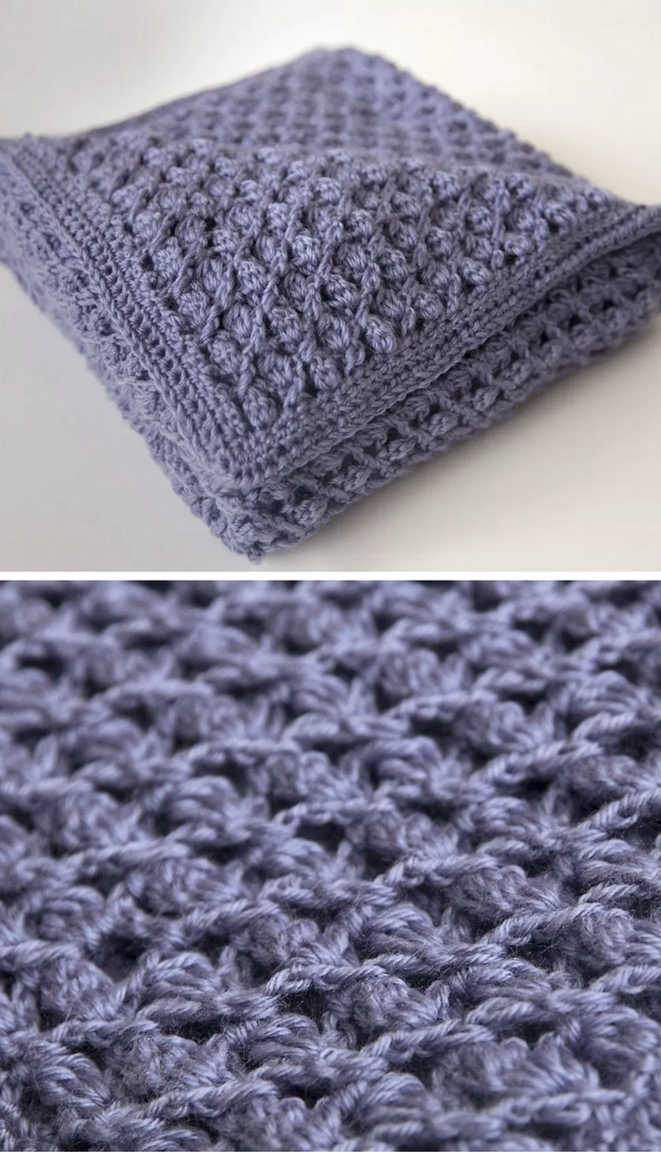This Heirloom Baby Blanket Free Crochet Pattern Is A Beautiful Gift ...