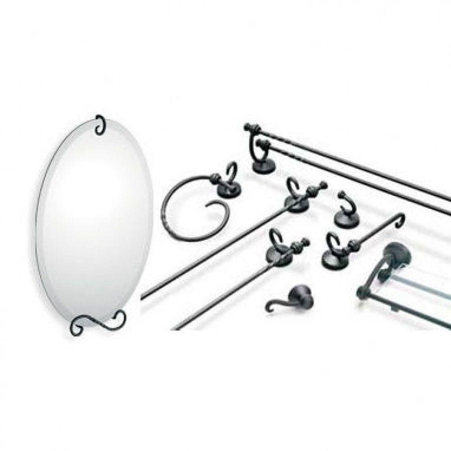 Creative Specialties By Moen Sienna 4 Piece Bathroom Accessory Set