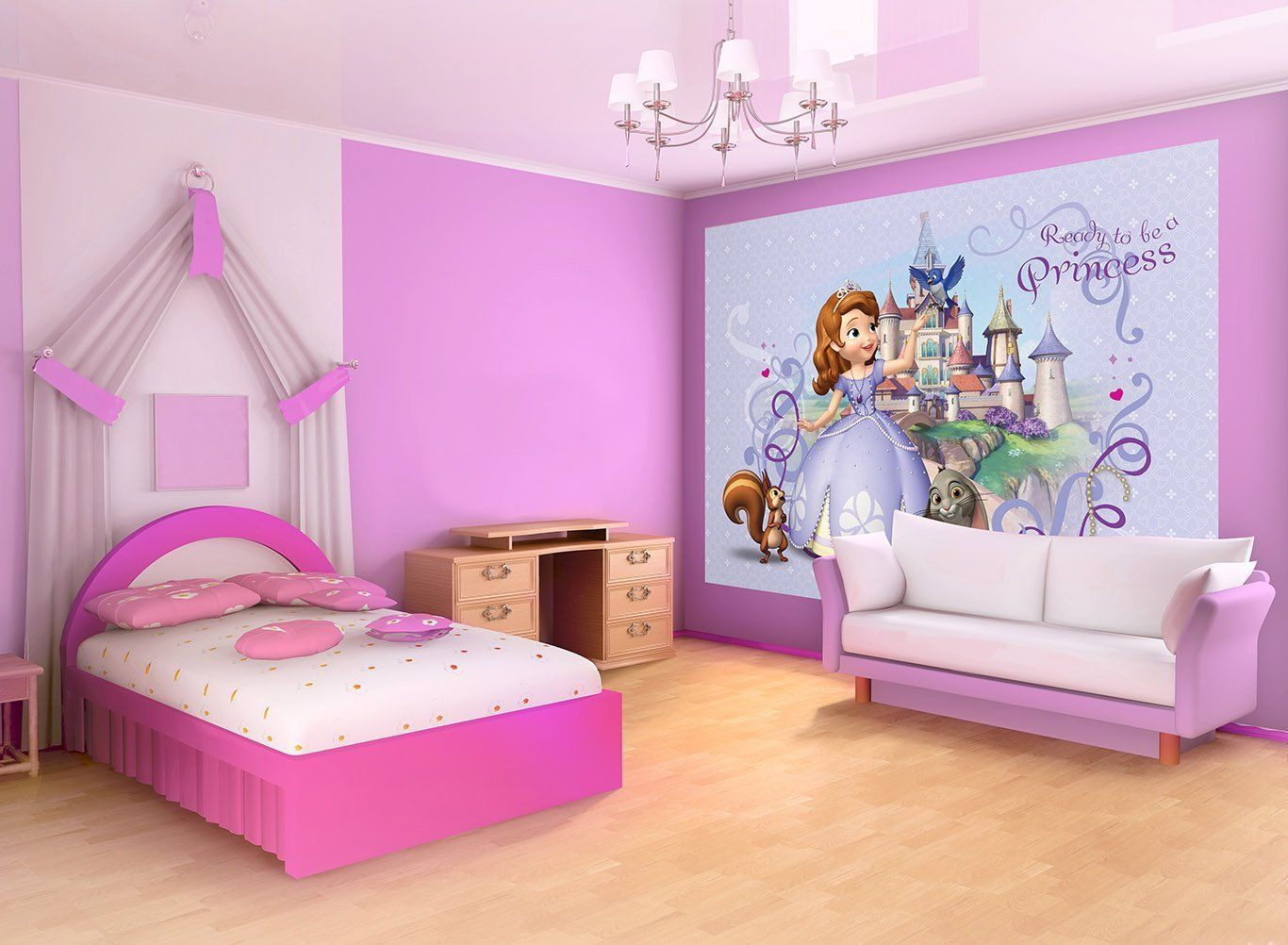 Sofia The First Bedroom Amazoncom Disney Sofia The First Wallpaper Mural Home