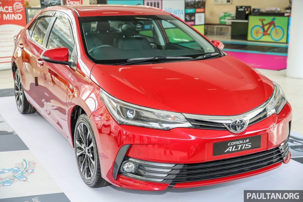 New Toyota Corolla Facelift Launched In Malaysia In 2020 Toyota Corolla Toyota Corolla