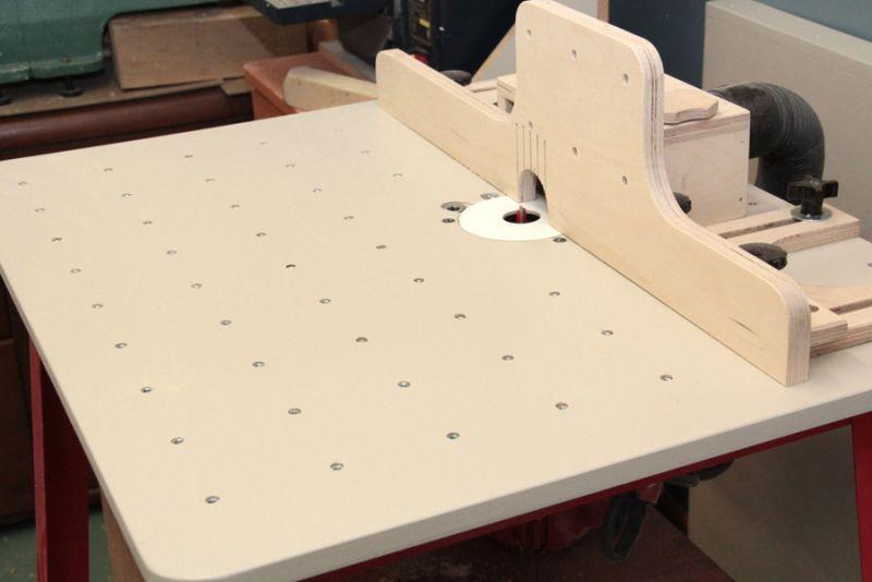 fabriquer une table toupie et des guides ajustables maximiser cet outil de coupe en. Black Bedroom Furniture Sets. Home Design Ideas