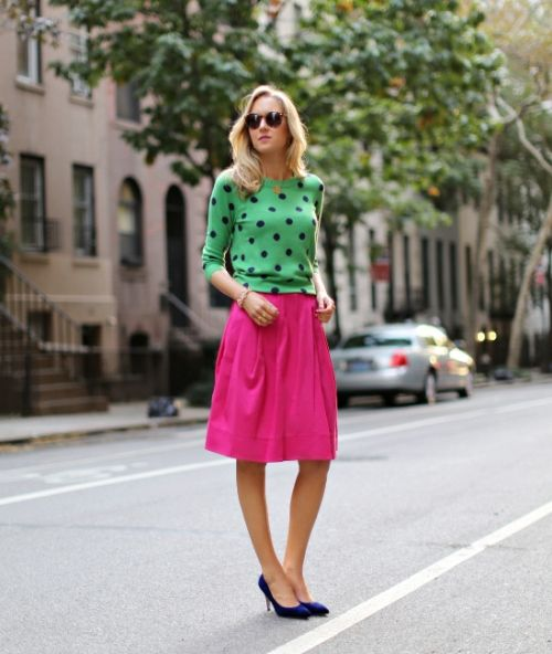 10 Fab Ways to Wear The Polka Dot Trend This Spring!