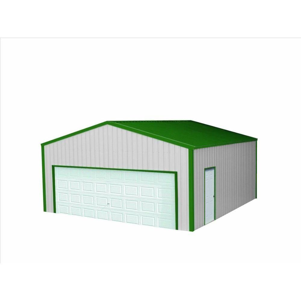 VersaTube 20 ft. x 30 ft. x 8 ft. Garage-VS2203008516SG - The Home ...