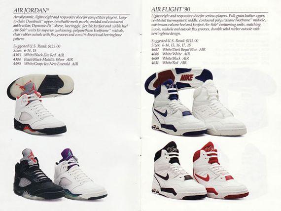 Nike Basketball Catalog From 1990   Air jordans, Nike, Nike