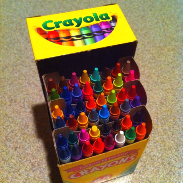 Crayolayou Were A Cool Kid If You Had The 48 Pack I Still LOVE To Color