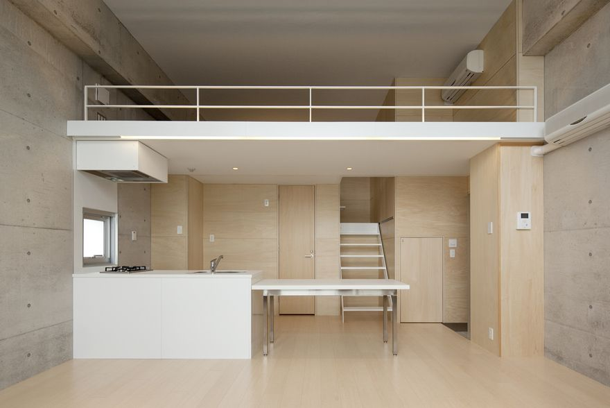 Rental-apartment in Tokyo designed by Akio Yachida