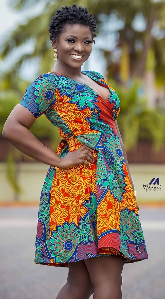 MOKAO Traditional African Print Dress