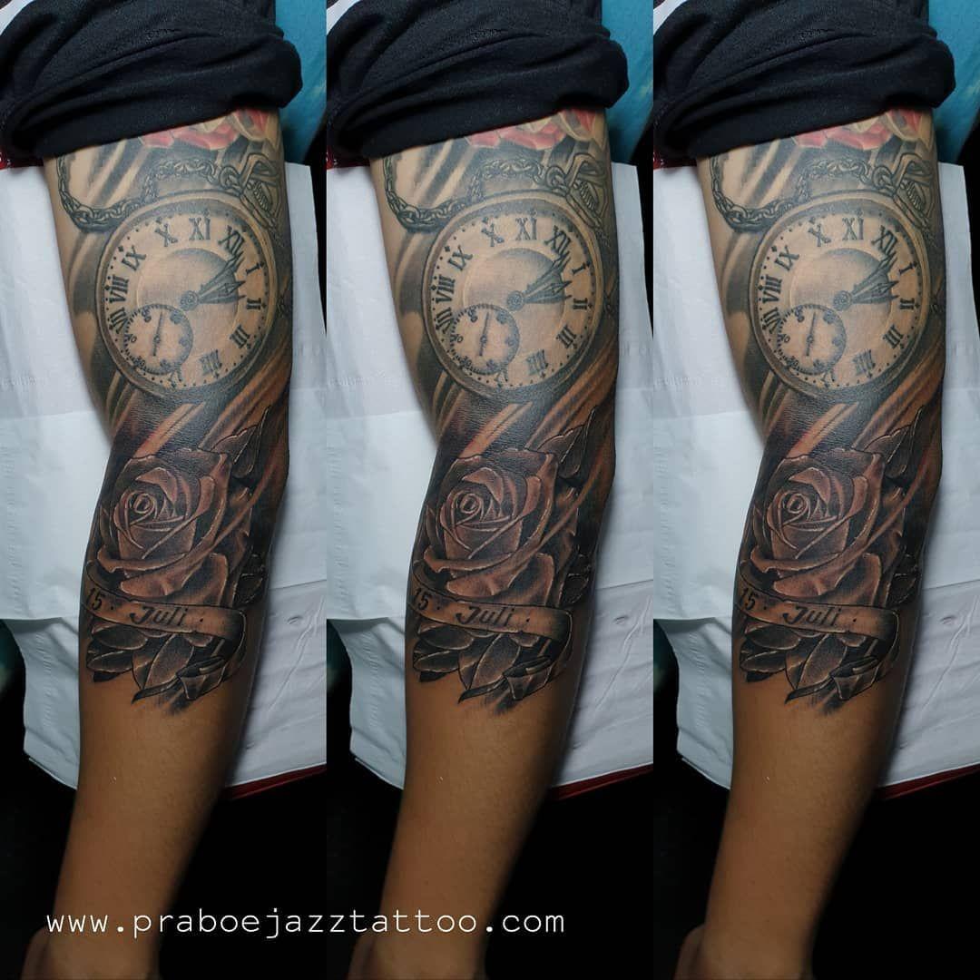 Japanese fish arm sleeve must Koi dragon tattoo