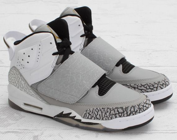 new concept a37d7 99311 Jordan Son of Mars GS - Matte Silver Metallic Gold   Available Now    FreshnessMag.com