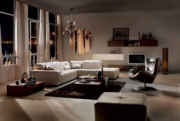 Gloria's choises for a living room - Natuzzi