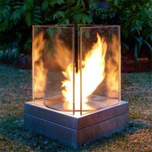 cheminee exterieur en verre a ethanol build outdoor. Black Bedroom Furniture Sets. Home Design Ideas