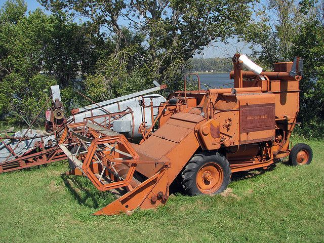 allis chambersCombines For Sale | 3367a allis chalmers combine allis chalmers antique combine at western ...