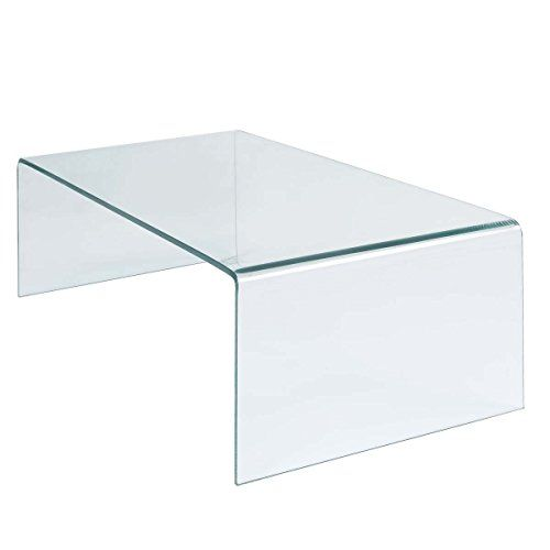 Tangkula Coffee Table Tempered Glass Rectangle Cocktail Living Room Furniture You Can
