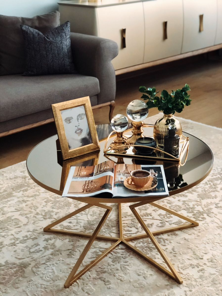 Orta Sehpa Kahve Sunumlari Dekor Kendin Yap Apartman Dairesi Dekoru Dekor Ikea Oturma Odasi