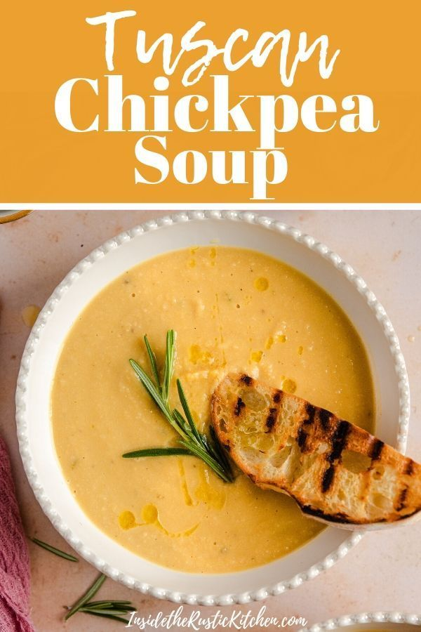 Photo of Tuscan Chickpea Soup