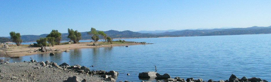 Folsom lake state recreation area open in winter and