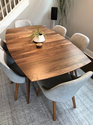 Ventura Extension Tables Mid Century Modern Dining Modern