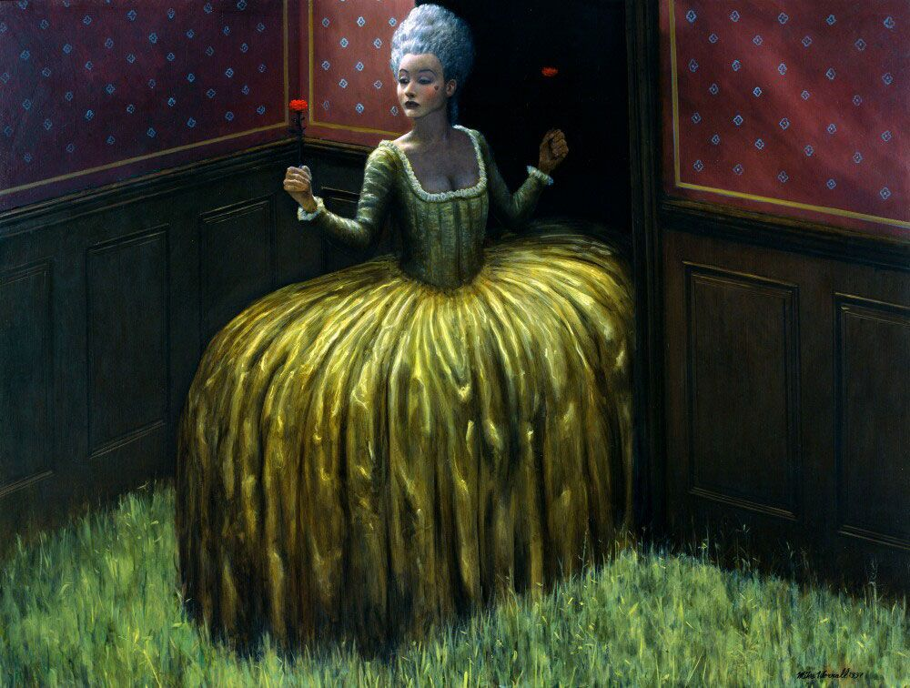 Entranced   Surreal Art by Mike Worrall